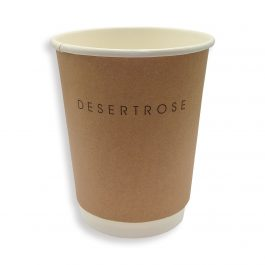 16 Oz  Kraft Hot Paper Cup (400 ML) – Double Wall