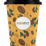 16 Oz Ripple Hot Paper Cup (400 ML)